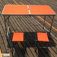 Раскладная мебель для пикника, отдыха WELFULL-FTS1-4, складной стол+ 4 стула