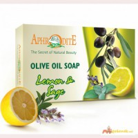 Оливковое мыло Aphrodita (Крит)