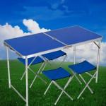 Походный набор мебели для пикника, раскладной стол и стулья Welfull-FTS1-4