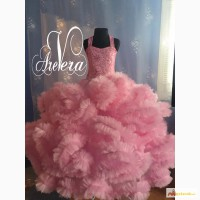 Нарядное детское подростковое платье облако праздничное пышное выпускной