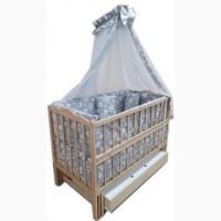 Акция! Новое! Комплект: кровать маятник, матрас кокос и постель 8 элем
