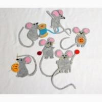Набор нашивок мышек Дольче Габбана