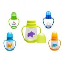 Бутылочка для кормления младенцев с ручками
