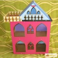 Разборной кукольный домик в стиле Монстр