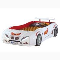 Детская Кровать машина F1 -белая