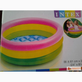АКЦИЯ ! Детские надувные бассейны, круги, плотики Intex