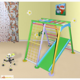 Детский игровой комплекс Астронавт цветной, спортивный уголок