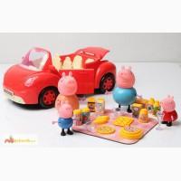 Машинка Свинки Пеппы с коринкой для пикника