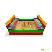 Детская песочница, песочницы для детей из дерева (pes 11)