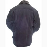 Куртка дублёнка чёрная мужская большая и тёплая, 3XL