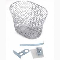 Кошик велосипедний Basket (сріблястий)