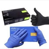 Перчатки нитриловые Нитрилекс 50 пар/уп. (100 штук) Nitrilex