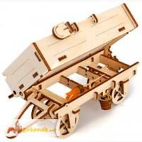 Механический-Деревянный 3D Конструктор - Прицеп к трактору