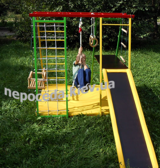 Фото 2. СЕКРО-Чемпион Детский спортивный комплекс