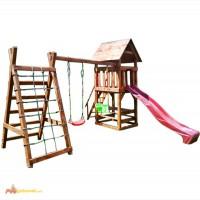Детский комплекс Антошка деревянный