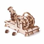 Механический-Деревянный 3D Конструктор - Пневматический двигатель