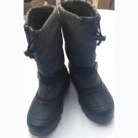 Сапоги (ботинки, сноубутсы) Kamik мальчику, размер usa 6 eur 38