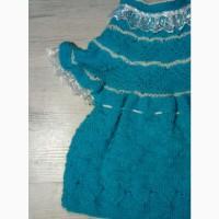 Вязаное платьице ручная работа