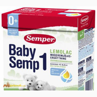 BabySemp1 Lemolac Семпер (Semper), привозим с Европы