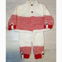 Детский костюмчик ручной вязки