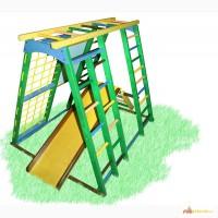 Детский спортивно-игровой комплекс для улицы Кораблик, спортивный уголок