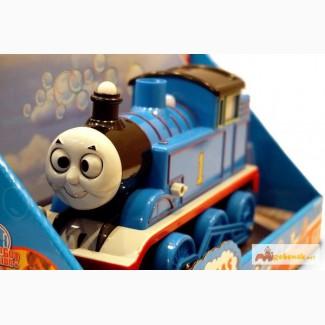 Паравозик Томас музыкальный с мыльными пузырями