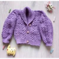 Пуловер для мальчика ручная работа