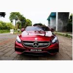 Детский электромобиль Mercedes Benz S63 AMG автопокраска