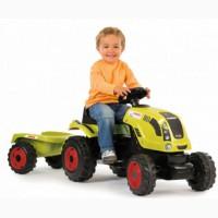 Детский педальный трактор c прицепом Smoby CLAAS 710114