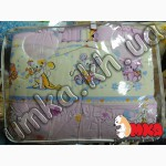 Комплект детского постельного белья Bepino Улыбка розовый