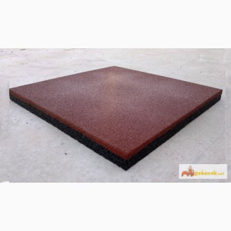 Резиновая плитка 50 х 50 см, покрытие для спортивных площадок, модульное покрытие