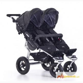 Прогулочная коляска для двойни TFK TWINNER TWIST Duo Premium
