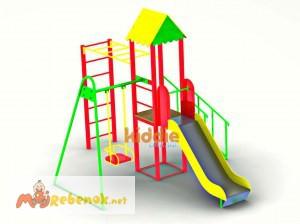Фото 2. Детские игровые комплексы от производителя