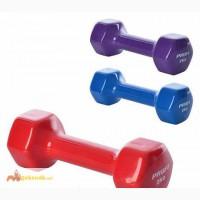 Гантель виниловая для фитнеса Profi M 0290