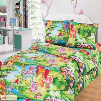 Комплект с пони Волшебные сны детское постельное белье купить