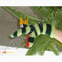 Игрушка-рукавичка Змейка