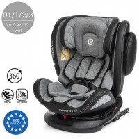 Автокресло ISOFIX ME 1045 EVOLUTION 360 Royal Gray, группа 0+/1/2/3, 0-36 кг, сер