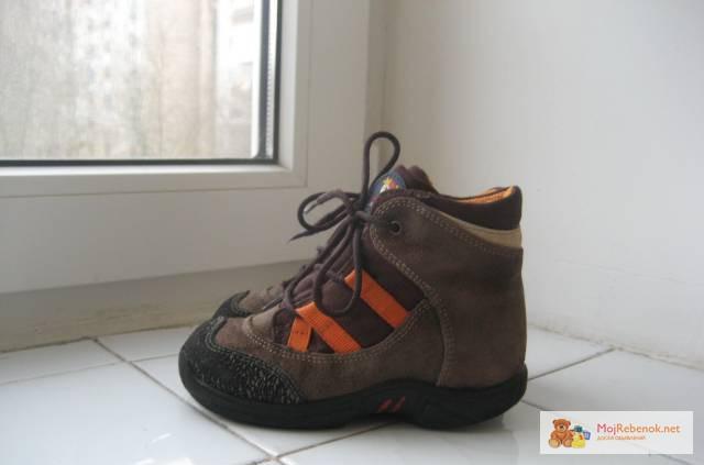 Ботинки Pepino Ricosta SympaTex Верх замша + текстиль, внутри натуральная н