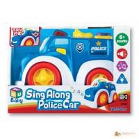 Машинка Веселая Полиция К12842 Keenway
