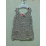 Вязаное платье на рост 92 см