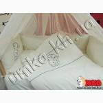 Эксклюзивное постельное белье для новорожденных с вышивкой Ангел, Тедди