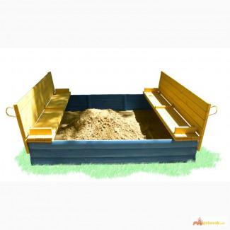 Песочница с крышкой Козачок 200х200см
