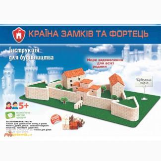 Дубенский замок конструктор из керамических кирпичиков
