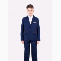 Темно - синий костюм для мальчика от производителя