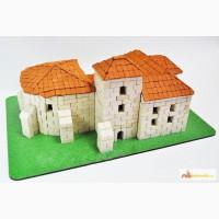 Олесский замок конструктор из керамических кирпичиков