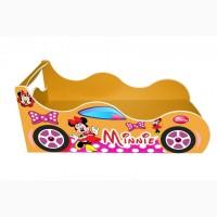 Кровать машина Minni Mouse Детская кровать машина.Forsage. БЕСПЛАТНО доставка