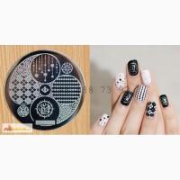 Диск hehe017 для дизайна ногтей konad дизайн