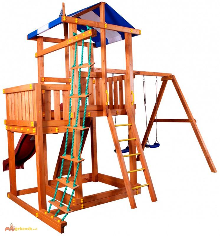 Фото 2. Игровой комплекс для детей