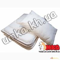 Набор для детской кроватки: подушка и одеяло