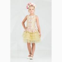 Платье для девочки 38-7011-1 zironka рост 98, 104, 110, 116, 122, 128